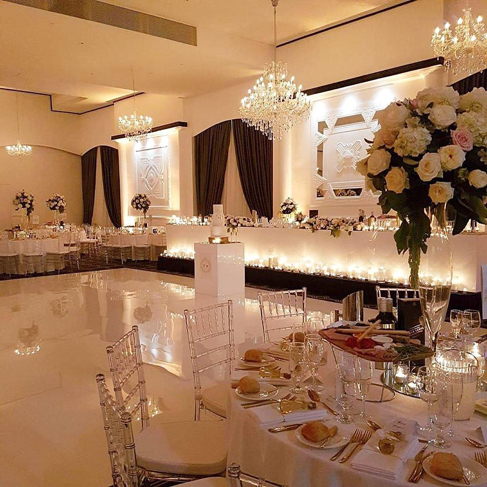 Melbourne wedding event hire white gloss dance floor arubaitofo Choice Image