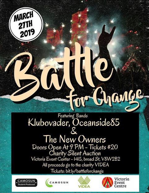 Next show March.27th Battle For Change <3