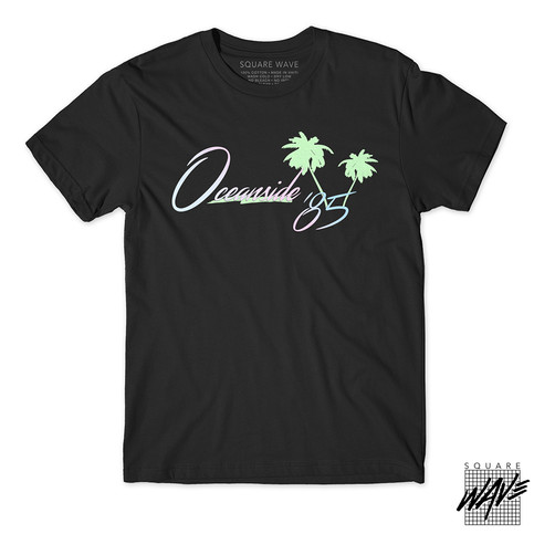 The 1st Edition of OCEANSIDE85 Tshirts are here!