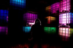 Neon Cubes O85 PROMO 1 Its always darkes