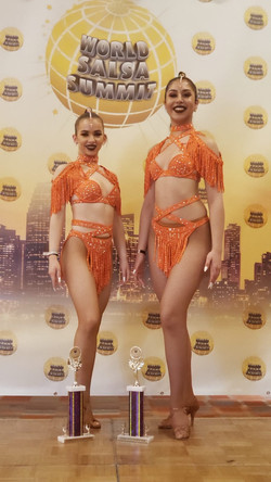 Same Gender Salsa Shines 2020 World Champions