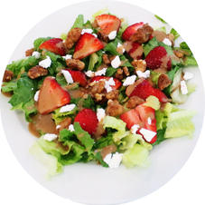 Glazed Walnut Salad