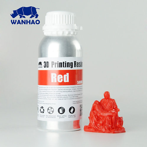 Red Wanhao Resin 500ml