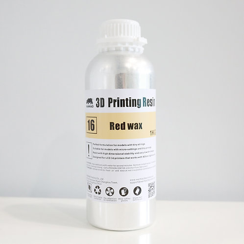 Red Wax Wanhao Resin 1000ml