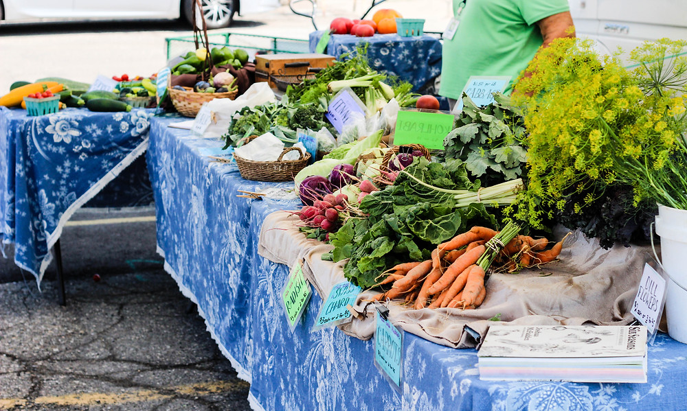 eryn because | Local Living | Farmers Markets