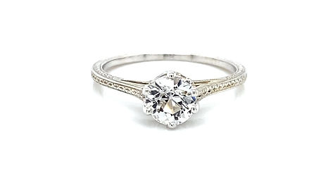 18kt Art Deco Engagement Ring Giveaway
