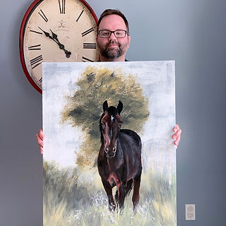 horse-painting-pet-portrait-custom-art-1
