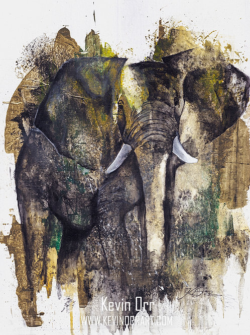 Elephant - Original Painting