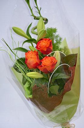 3 roses boquuet