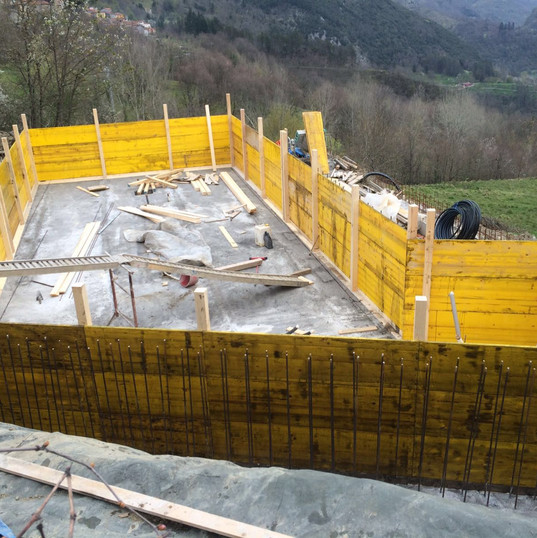 Pool Construction Reinforced Cement