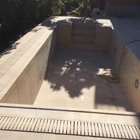 Pool Tiling Rosa Gres