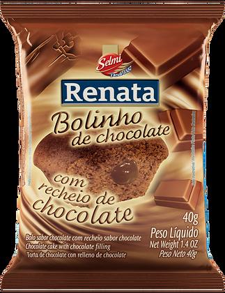 Bolinho Chocolate com Chocolate