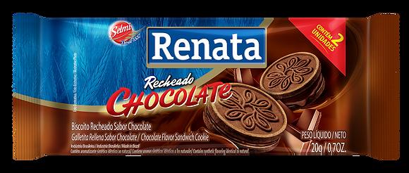 Biscoito Recheado Chocolate