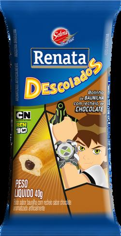 BOLINHO BAUNILHA COM CHOCOLATE