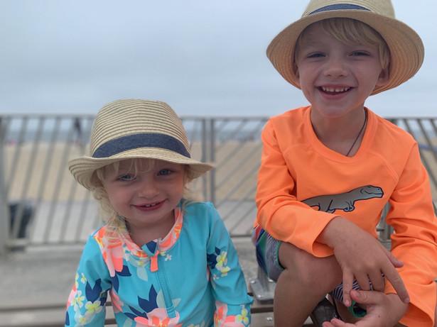 AEA Children Sublings Smiling