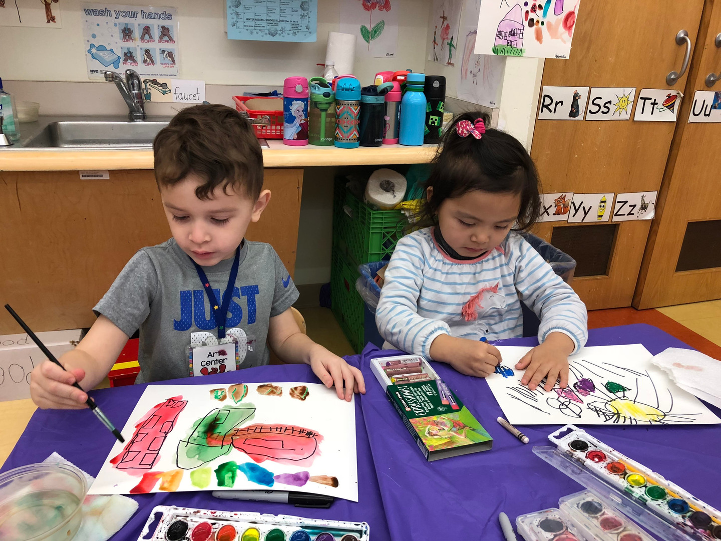 AEA Children painting