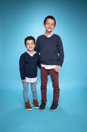 AEA Children School Photo Siblings