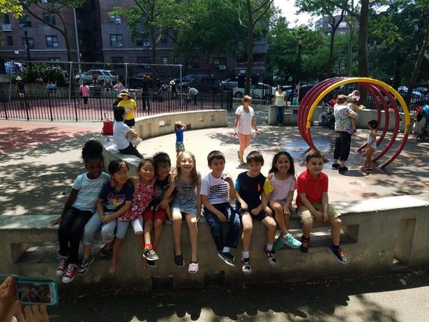 AEA Children at the playground