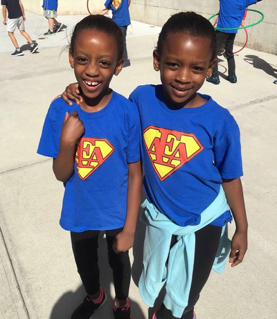 AEA Children Siblings Field Day
