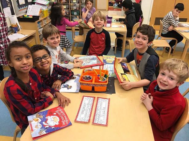 AEA Children at desks