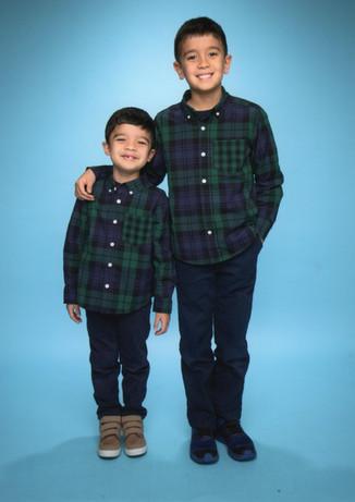 AEA Children Siblings School Photo