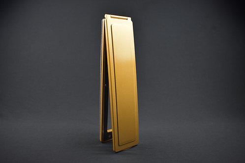 Vertical Brass Effect Magflap