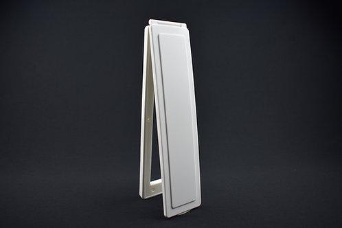Vertical Magflap In Original White