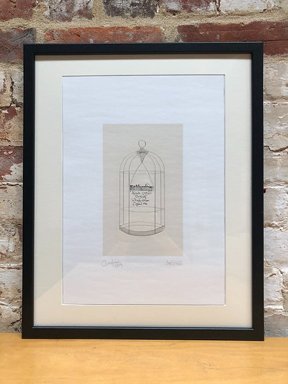 A4 signed print of 1000 Songs