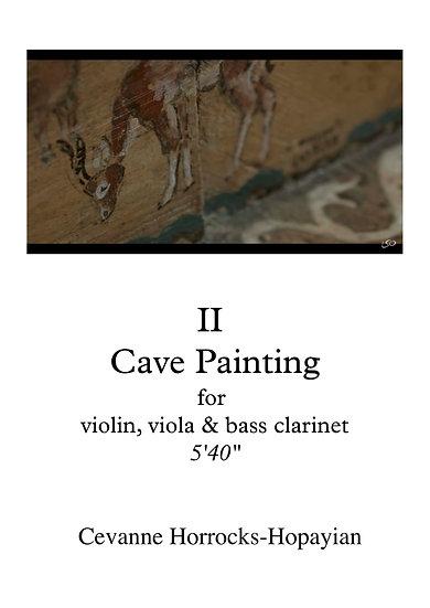 'Cave Painting' score (vln. vla. b.cl)