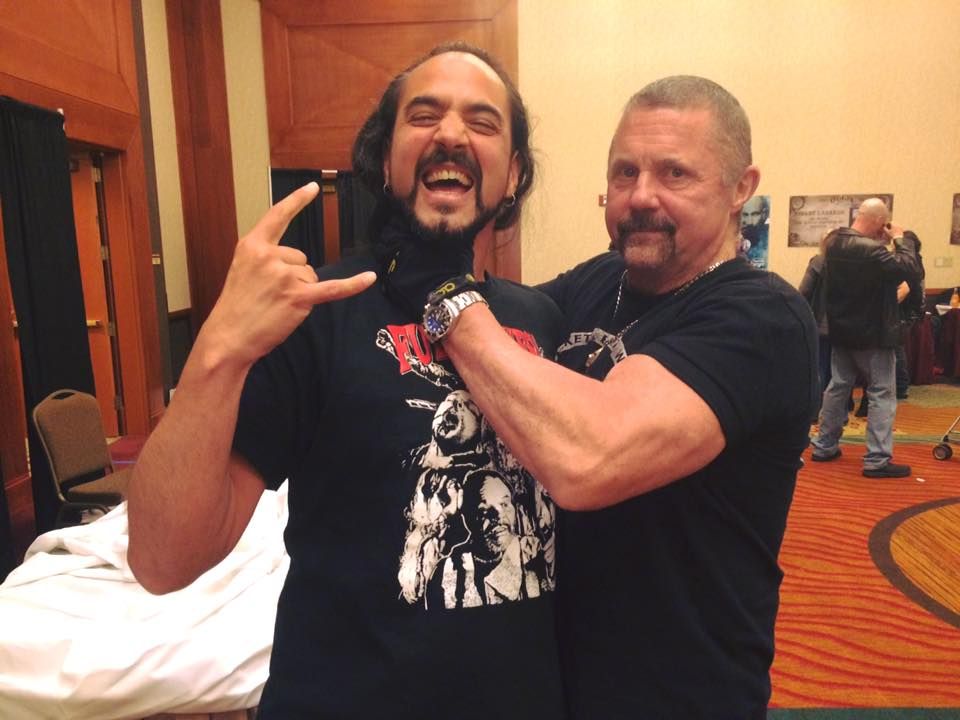 Kane Hodder with Semih