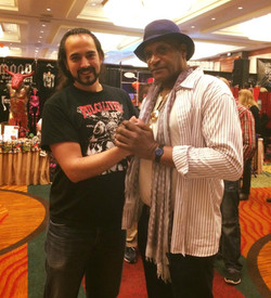 Semih with Tony Todd
