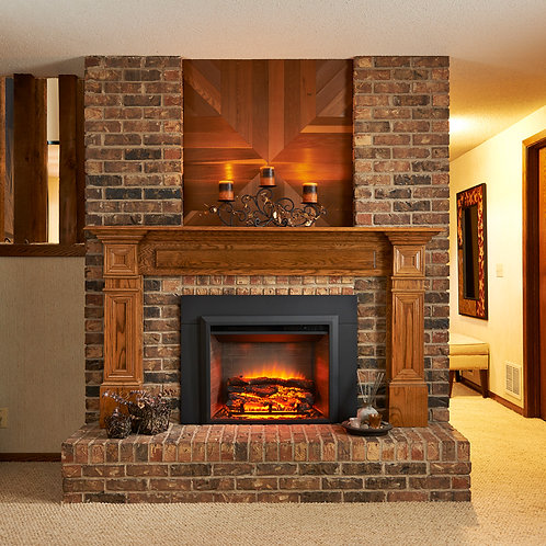 """29"""" Electric Fireplace Insert (Firebox Only)"""