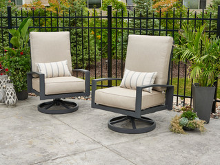 New Product Alert! Lyndale Swivel Rocking Chairs