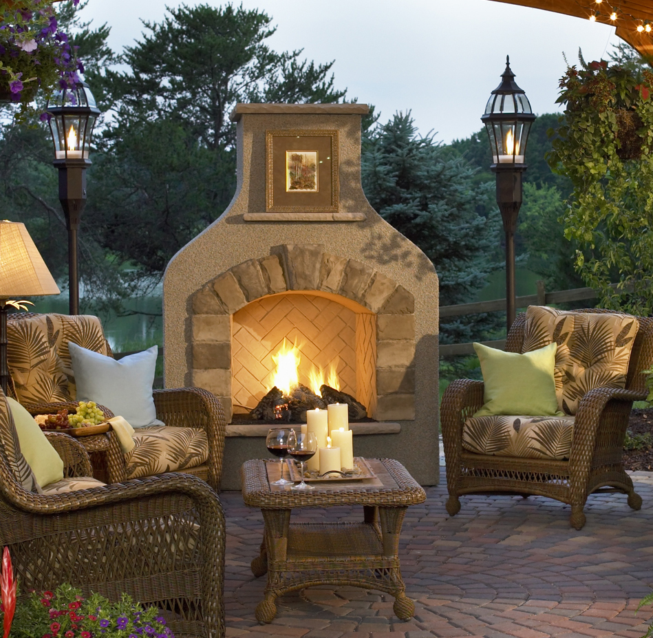 Outdoor Gas Fireplace Minneapolis