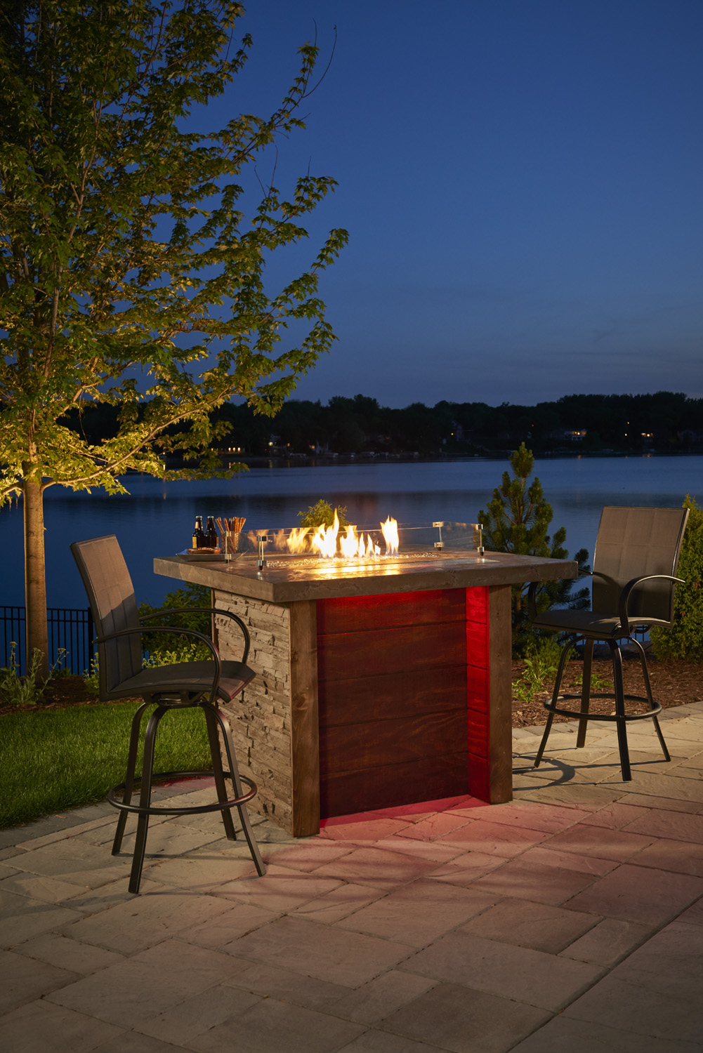 Gas Fire Pit Table Burnsville