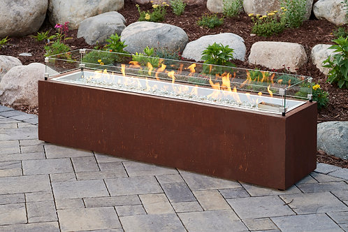 Cortlin Linear Fire Pit Table