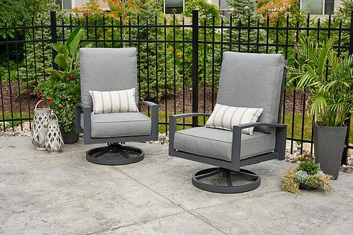 Lyndale Highback Swivel Rocking Chairs