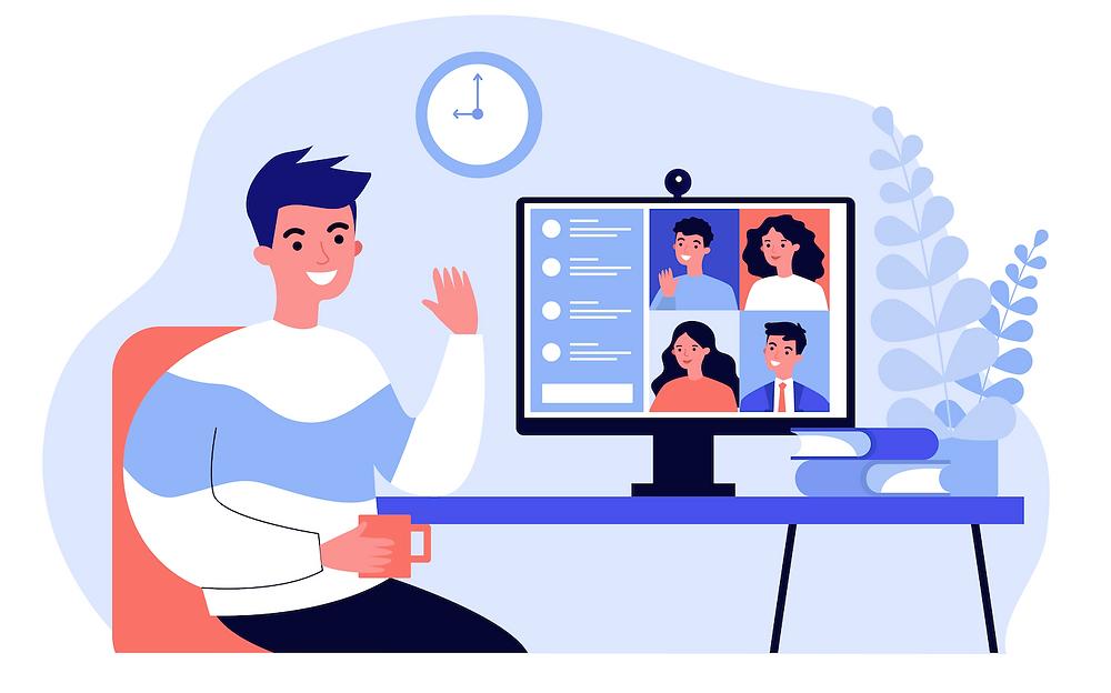 Online Education Video meeting