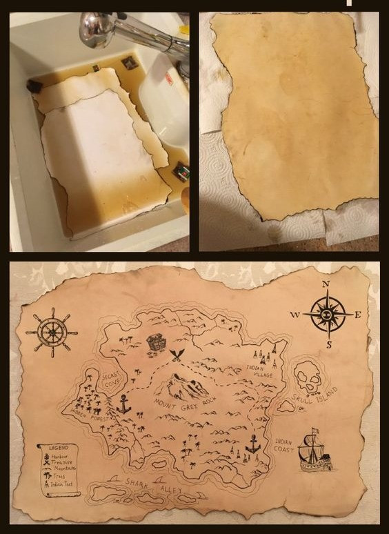 Scavenger Hunt Craft Idea