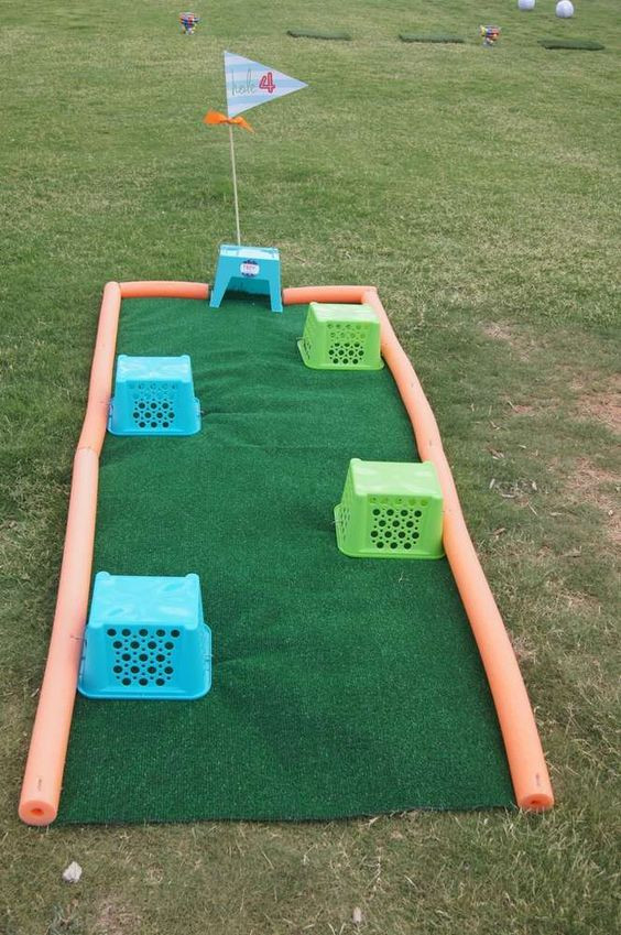 Golf Course Craft Idea