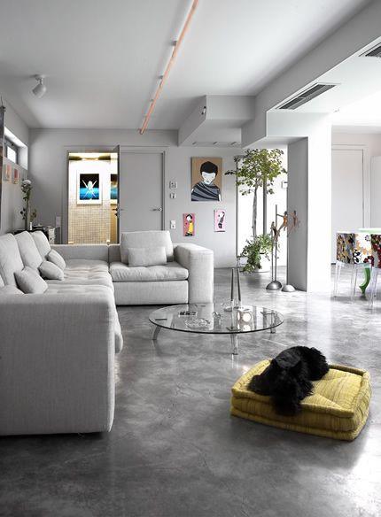 Cimento Queimado-Vantagens e Dicas - Blog Project Studio Arquitetura