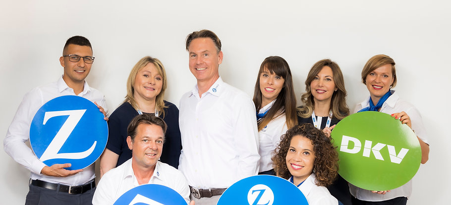 TVT Seguros, Agent of Zurich Insurance and DKV medical insurance in Tenerife, La Palma, Gran Canaria, Fuerteventura.