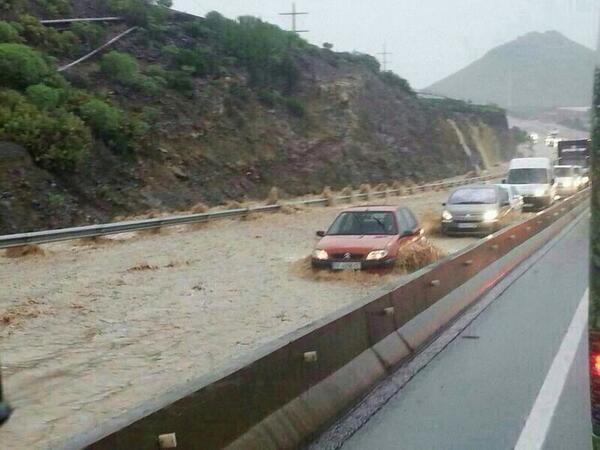 tormentas 19 de Diciembre Tenerife Temporal Lluvias. Consorcio.