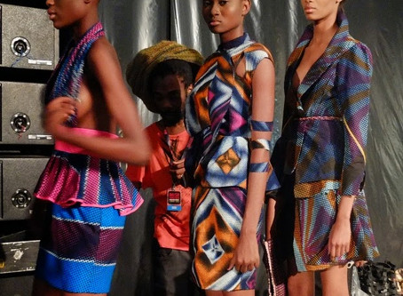 ARISE FASHION WEEK 2012 - BACKSTAGE