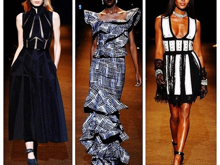 FASHION FOR RELIEF MBFW 2015: MADAM WOKIE ON THE RUNWAY