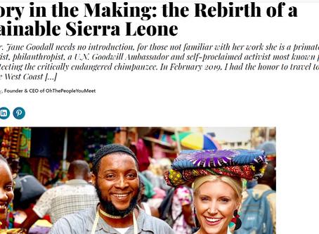 May 2019: Madam Wokie on Thrive Global