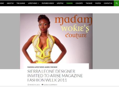 Madam Wokie on Afro Fusion TV