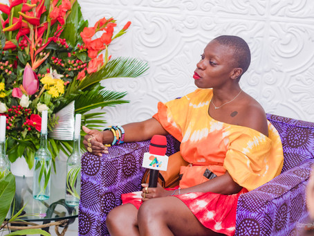 Madam Wokie hosts a cocktail reception in honour of Jessica Nabongo