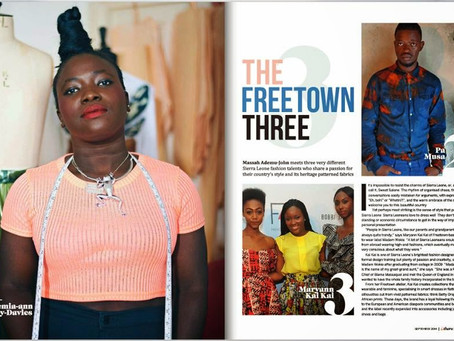 MADAM WOKIE IN BRUSSELS AIRLINES B THERE MAGAZINE; THE STYLE ISSUE