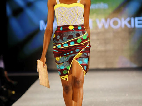 Arise Magazine Fashion Week 2012  HARMATTAN COLLECTION